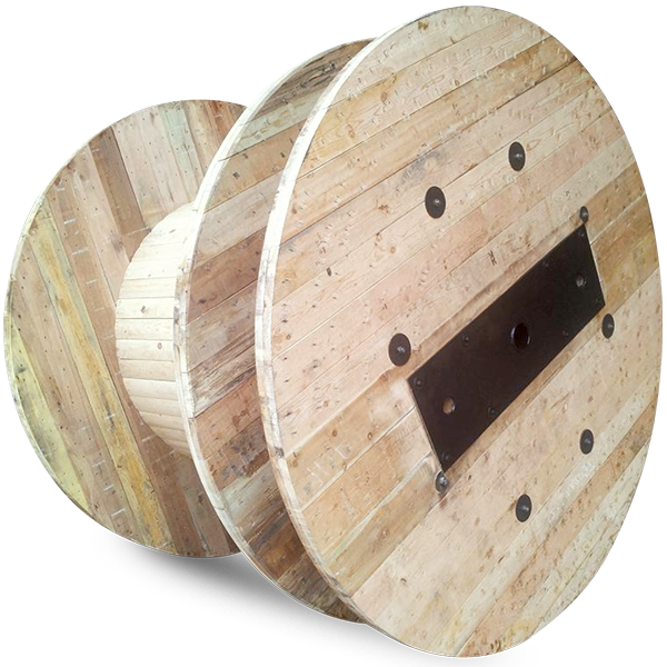 Wooden Reels with Compartment